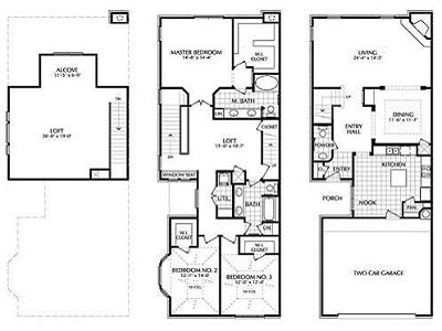 Selecting the Right Apartment Floor Plans - San Brisas ...